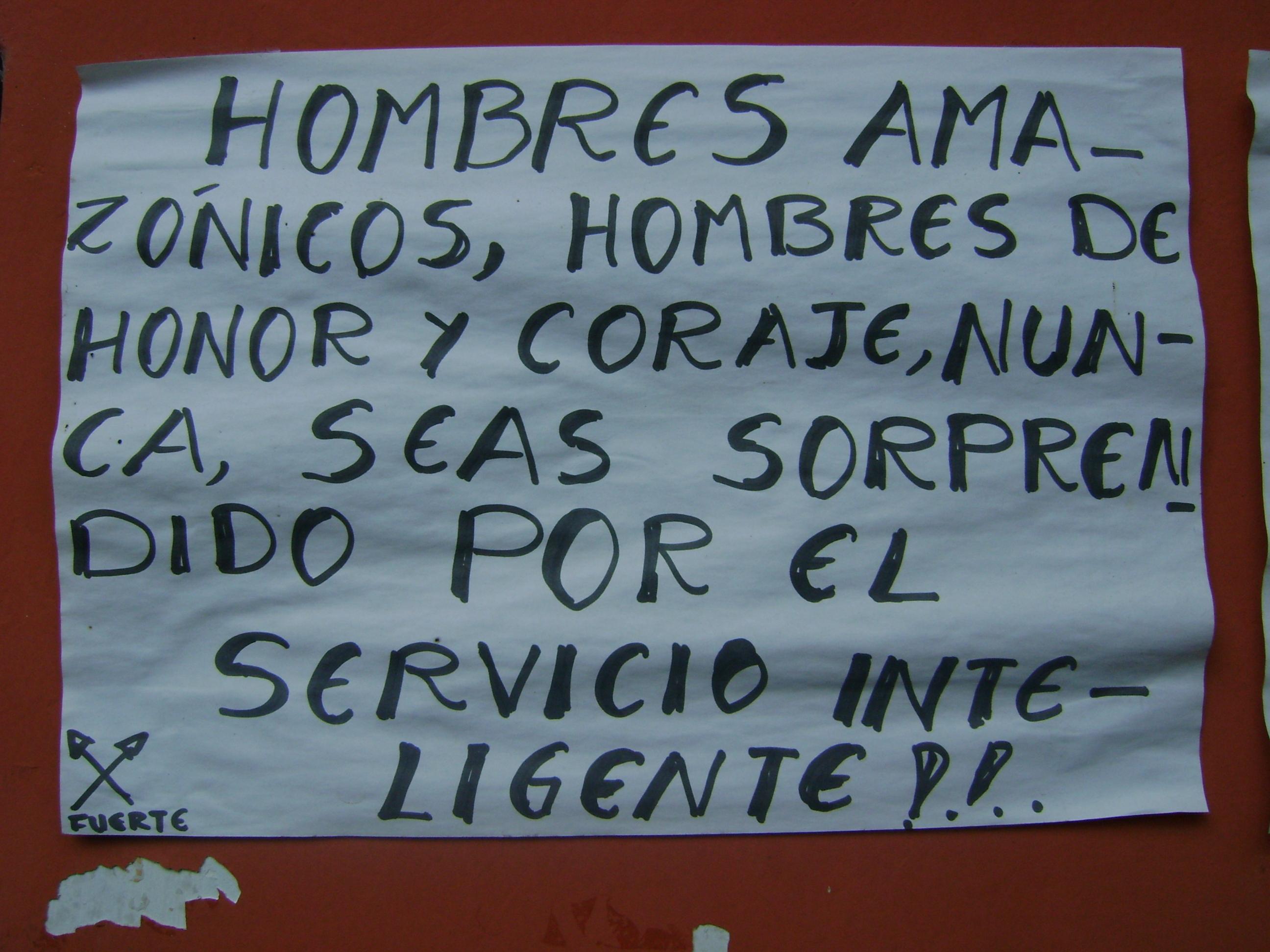 cartel en oepiap