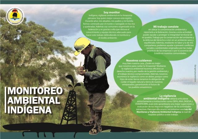 ¿Quién es un vigilante y monitor ambiental? Mira nuestra infografía.