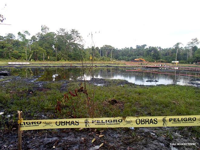 El lote 8X se encuentra dentro de la Reserva Nacional Pacaya Samiria, en la cuenca del Marañón. El 2012 una comisión fiscal ingreso al lote a realizar un inspección junto a OEFA. Lo hallado fue sorprendente.