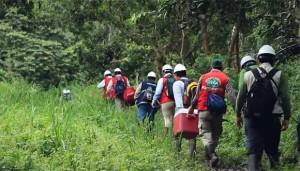Fotograma captado del vídeo sobre el monitoreo en el Tigre, realizado por MINAM.