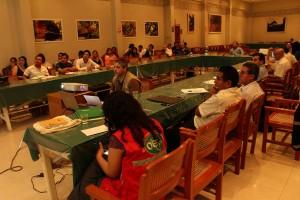Comisión Multisectorial reunida con representantes de FECONAT.