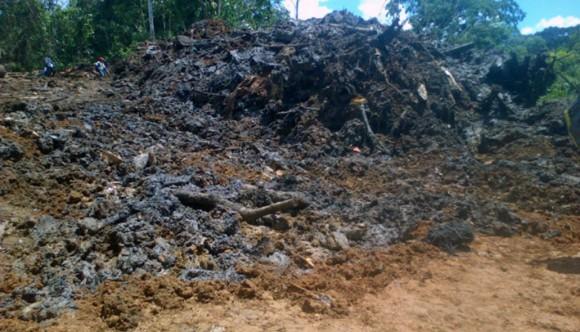 Shipirucocha enterrada noviembre 2013