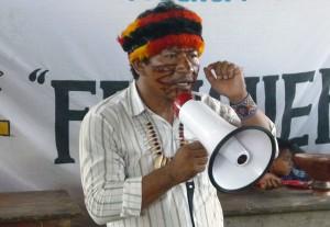 Apu Aurelio Chino, presidente FEDIQUEP.