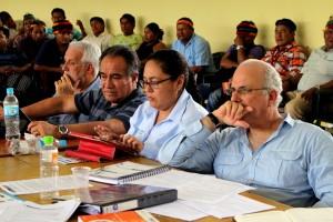 Funcionario del MINEM, Perupetro, Petroperú y MINAM.