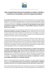 Pronunciamiento Cuninico_agosto