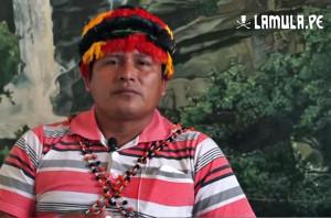 Apu Juan Piñola, de FECONACO.