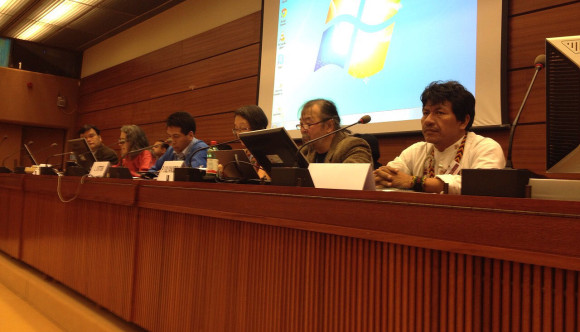 Aurelio en Foro sobre Pueblos indígenas, derechos humanos y empresas.
