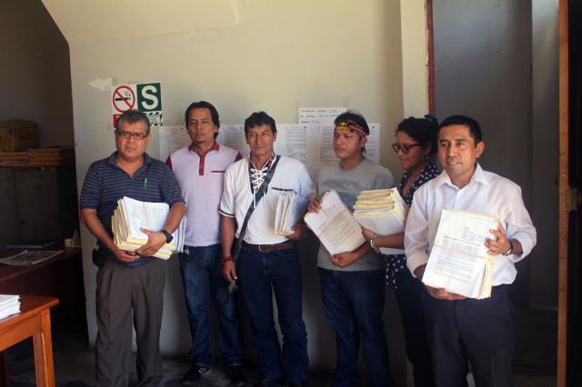 Ingreso de la demanda en Juzgado Mixto de Nauta, 27 de mayo 2015.