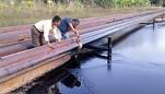 Derrame de petróleo en el Lote 192 afecta quebradas y llega a aguas del río Tigre, en Loreto