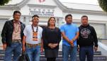 Reunión de la Ministra de Justicia Marisol Pérez Tello y los presidentes de las federaciones FEDIQUEP, FECONACO, OPIKAFPE y ACODECOSPAT