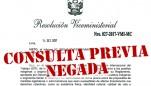 Gobierno responde apelación y niega derecho a Consulta Previa de las comunidades indígenas del Lote 192