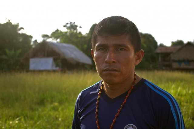 Elmer Hualinga, coordinador de monitores de FEDIQUEP.