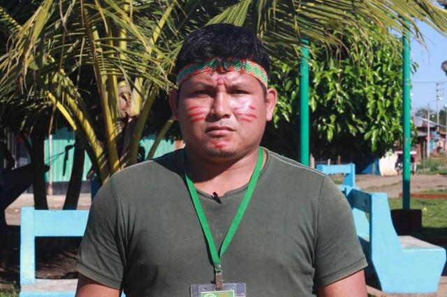 Apu Gilber Guardia, vice-apu de CN Nuevo Andoas