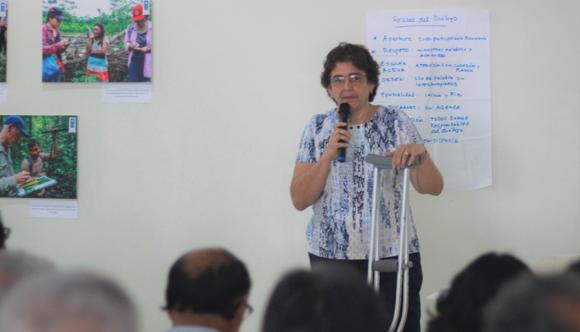 Margarita Ferrera, coordinadora del equipo técnico del ETI