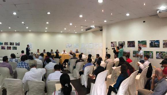 Evento de presentación del ETI en Iquitos