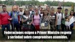 Federaciones indígenas llaman atención a Primer Ministro Villanueva tras dilatación de reunión de trabajo