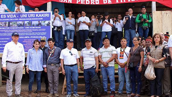 Primer ministro, presidentes de federaciones y comisión multisectorial en San Pedro Segunda Zona  - setiembre de 2018