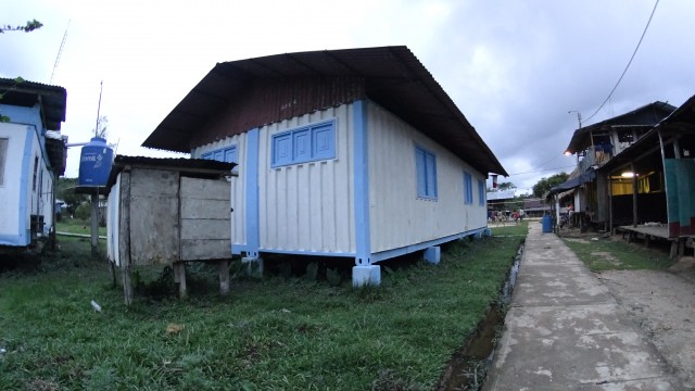 Puesto de Salud de San Juan de Bartra funciona dentro de un container