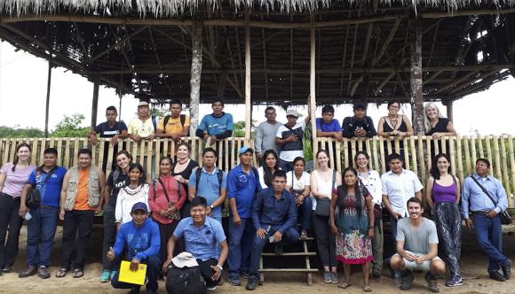 Monitores y monitoras ambientales se pronuncian sobre la problemática en la Amazonía norte de Perú